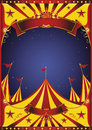 Sky night circus big top Royalty Free Stock Photo