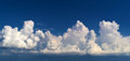 Sky panorama beautiful background made from several images Royalty Free Stock Images