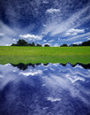 Sky Reflection Royalty Free Stock Photo
