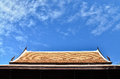 Sky roof Royalty Free Stock Photo