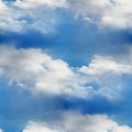 Sky seamless cloud blue wallpaper texture Royalty Free Stock Photo