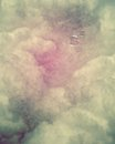 Sky textured with swirls and bubbles a Stock Images