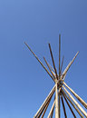 Sky tipi Royalty Free Stock Photo