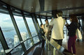 Sky tower auckland new zealand nz oct chines tourists visit at the observation deck on oct according to statistics china now is Royalty Free Stock Image