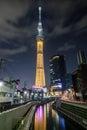 Sky Tree in Tokyo Royalty Free Stock Photo