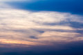Sky in twilight colorful time natural composition for background Stock Photos