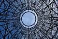 Sky View Through Ornamental Dome Royalty Free Stock Photo