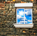 Sky window Royalty Free Stock Photography