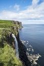 Skye island waterfall Royalty Free Stock Photo
