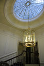 Skylight and chandelier Royalty Free Stock Photo