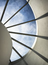 Skylight modern and clear sky Stock Photography
