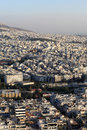 Skyline of Athens Stock Image