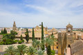 Skyline of Cordoba, Spain Stock Photo