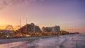 Skyline Of Daytona Beach, Flor...