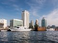 Skyline Deira from the Creek in Dubai Royalty Free Stock Photography