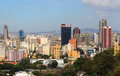 Skyline of downtown caracas venezuela may on may is the capital and largest city and its metropolitan Royalty Free Stock Photos