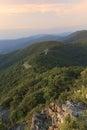 Skyline drive and shenandoah national park virginia usa Stock Images