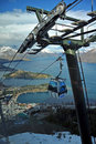 Skyline Gondola, Queenstown, New Zealand Royalty Free Stock Photos