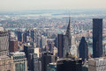 Skyline of Manhattan Royalty Free Stock Image