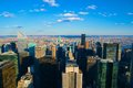 Skyline new york city the of Royalty Free Stock Photo