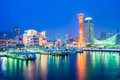 Skyline at Port of Kobe Tower in Japan Royalty Free Stock Photo