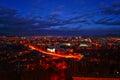 Skyline of Presov, Slovakia