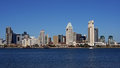 Skyline san diego california Stock Photo
