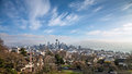 Skyline of Seattle in daylight Royalty Free Stock Photo