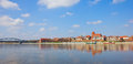 Skyline of Torun, Poland Stock Images