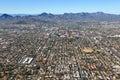 Skyline of Tucson, Arizona Royalty Free Stock Photo
