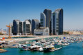 A skyline view of abu dhabi uae s capital city this is nd largest and has population almost million residents Stock Photos