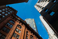 Skyscraper in New York City Royalty Free Stock Photo