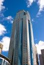 Skyscraper in Seattle, WA Royalty Free Stock Photo