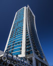 Skyscraper at surfers paradise a tall the on the gold coast queensland australia Royalty Free Stock Photos