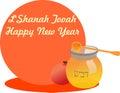 Slående år för shofar för rosh för pojkehashanah judiskt nytt Fotografering för Bildbyråer