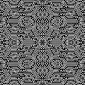 Sl 3d retro pattern Stock Photography