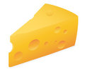Slab of cheese Stock Images