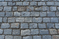 Slabs gray paving slabs patterned tiles of olf sreet square Royalty Free Stock Images