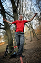Slackline Stock Photos