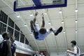 Slam dunk Royalty Free Stock Image