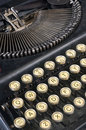 Slant vintage typewriter Stock Images