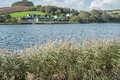 Slapton ley on the south coast of devon Royalty Free Stock Photo