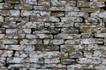 Slate, dry stone wall, texture, background. Royalty Free Stock Photo