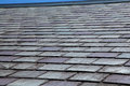 Slate Roof Royalty Free Stock Photo