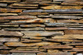 Slate Stone wall  texture background Royalty Free Stock Photo