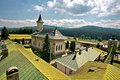 Slatina monastery the in summer Stock Image