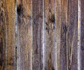 Slats weathered wooden fence Stock Images