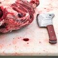 Slaughterhouse Royalty Free Stock Photo