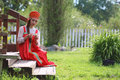 Slav woman in dress traditional Royalty Free Stock Photo
