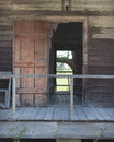 Slave cabin a on a louisiana plantation Royalty Free Stock Photography